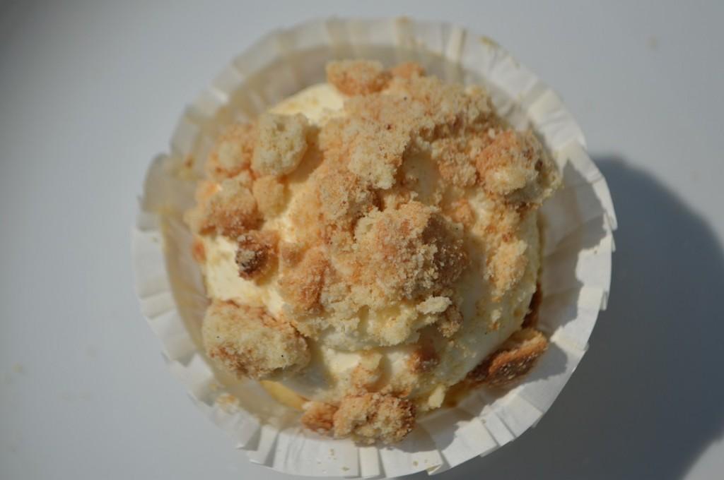Koldskål cupcake