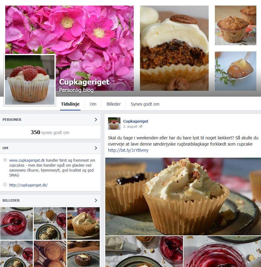 cupkageriget på facebook
