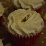 Vaniljekranse cupcakes