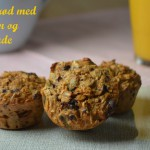 Bagt grød med appelsin og chokolade