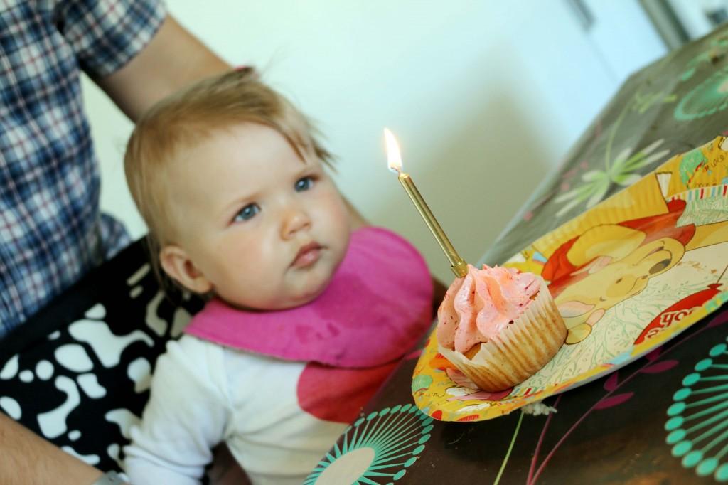 Fødselsdag prinsesse cupcakes