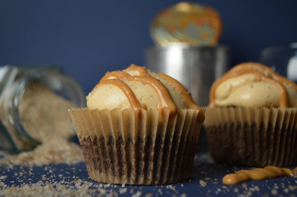 cupcakes med chokolade, whisky, karamel, røget salt 002