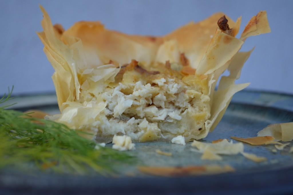 små tærter med fisk og fennikel 001