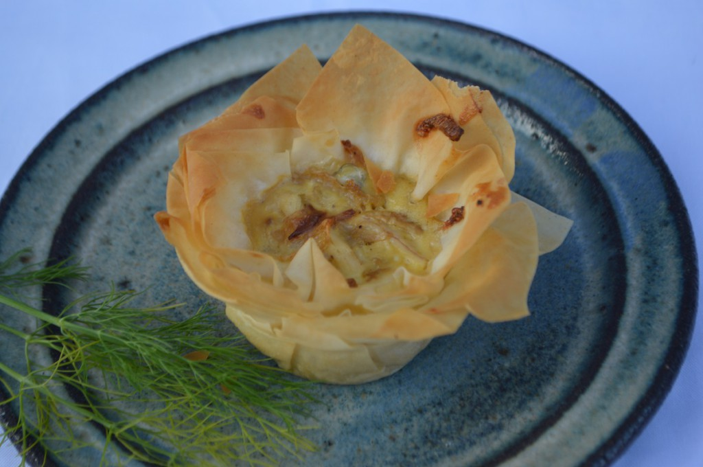 små tærter med fisk og fennikel 003