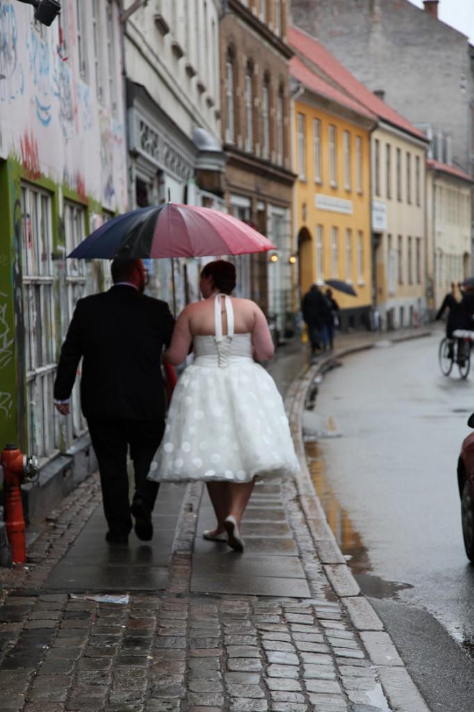 Bryllups i regnvejr