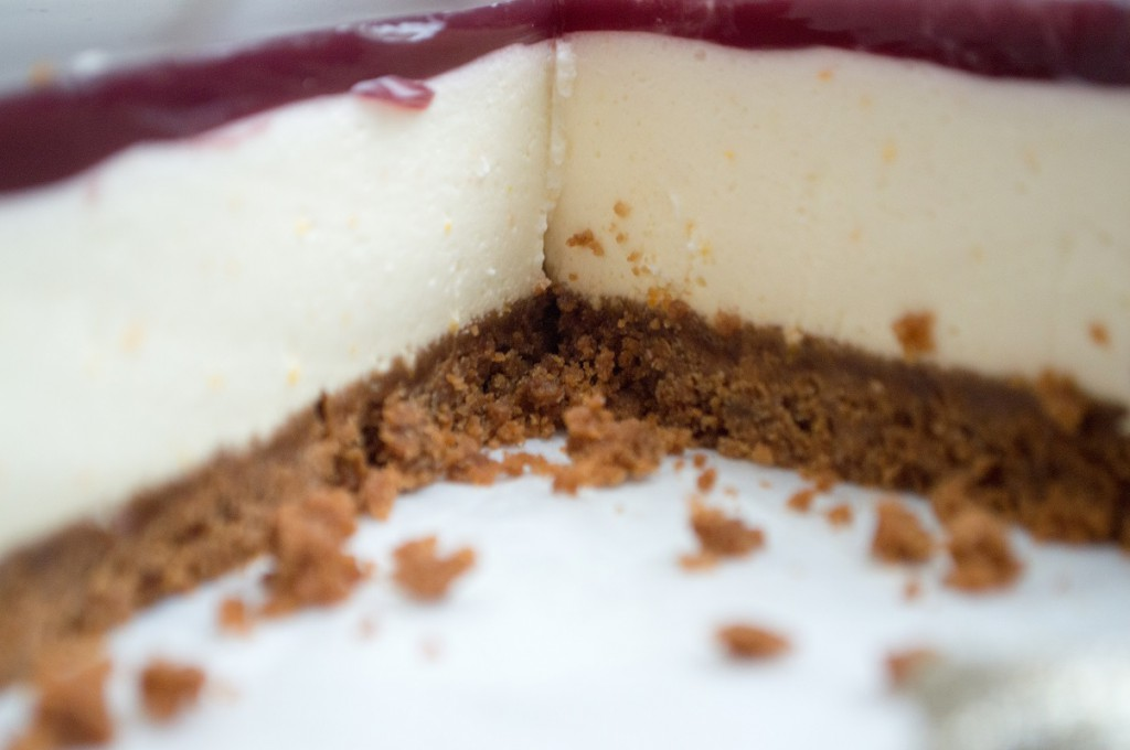 Cheesecake med bastognekiks
