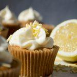 Cupcakes med citron og pastinak