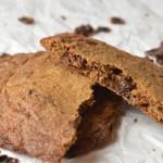 Cookies med bacon og chokolade