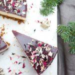 Cheesecake med smag af jul