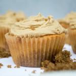 Brunsviger cupcakes